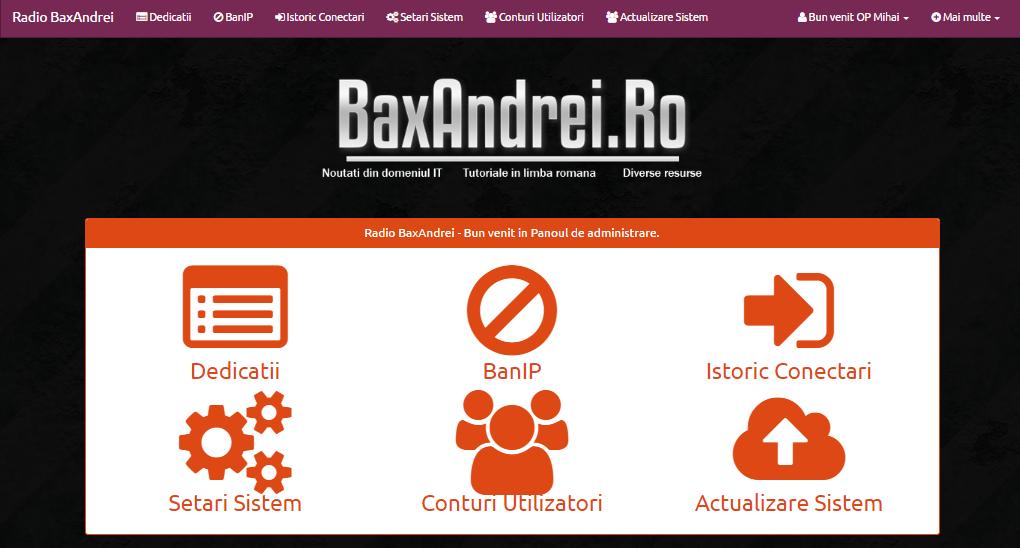 script dedicatii site
